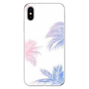Odolné silikonové pouzdro iSaprio - Digital Palms 10 na mobil Apple iPhone X
