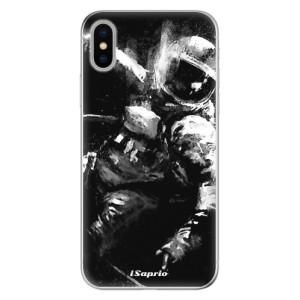 Odolné silikonové pouzdro iSaprio - Astronaut 02 na mobil Apple iPhone X