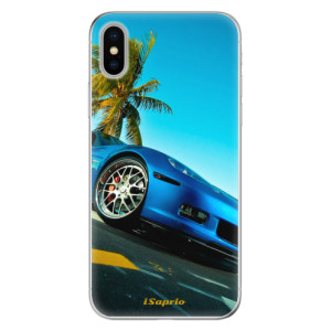 Odolné silikonové pouzdro iSaprio - Car 10 na mobil Apple iPhone X
