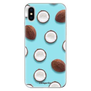 Odolné silikonové pouzdro iSaprio - Coconut 01 na mobil Apple iPhone X
