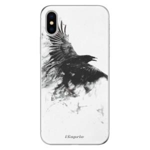 Odolné silikonové pouzdro iSaprio - Dark Bird 01 na mobil Apple iPhone X