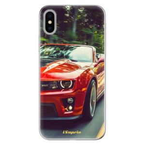 Odolné silikonové pouzdro iSaprio - Chevrolet 02 na mobil Apple iPhone X