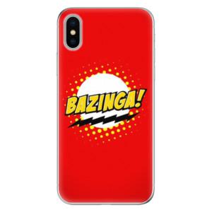 Odolné silikonové pouzdro iSaprio - Bazinga 01 na mobil Apple iPhone X