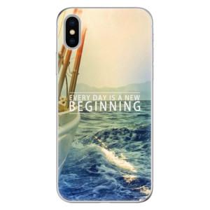Odolné silikonové pouzdro iSaprio - Beginning na mobil Apple iPhone X