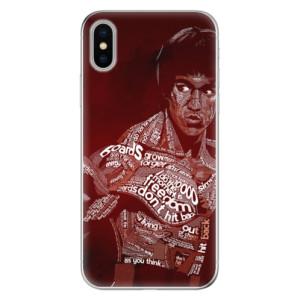 Odolné silikonové pouzdro iSaprio - Bruce Lee na mobil Apple iPhone X