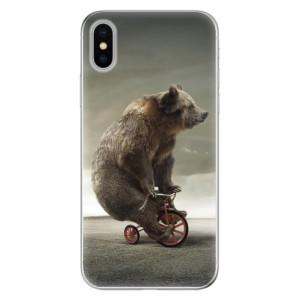 Odolné silikonové pouzdro iSaprio - Bear 01 na mobil Apple iPhone X