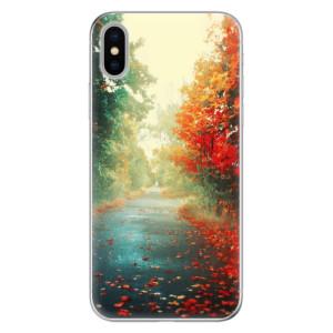 Odolné silikonové pouzdro iSaprio - Autumn 03 na mobil Apple iPhone X