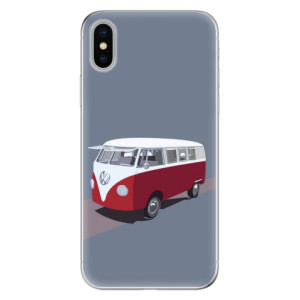 Odolné silikonové pouzdro iSaprio - VW Bus na mobil Apple iPhone X