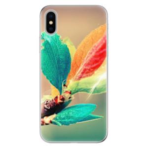 Odolné silikonové pouzdro iSaprio - Autumn 02 na mobil Apple iPhone X