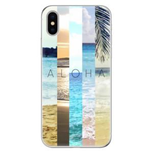 Odolné silikonové pouzdro iSaprio - Aloha 02 na mobil Apple iPhone X
