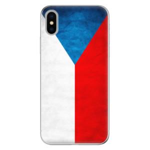 Odolné silikonové pouzdro iSaprio - Czech Flag na mobil Apple iPhone X