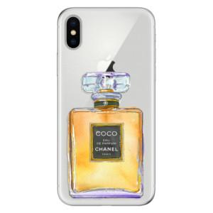 Odolné silikonové pouzdro iSaprio - Chanel Gold na mobil Apple iPhone X