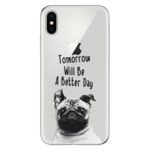 Odolné silikonové pouzdro iSaprio - Better Day 01 na mobil Apple iPhone X