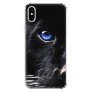 Odolné silikonové pouzdro iSaprio - Black Puma na mobil Apple iPhone X