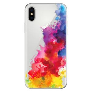 Odolné silikonové pouzdro iSaprio - Color Splash 01 na mobil Apple iPhone X