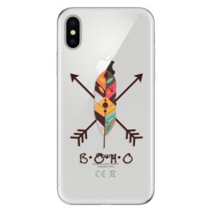 Odolné silikonové pouzdro iSaprio - BOHO na mobil Apple iPhone X