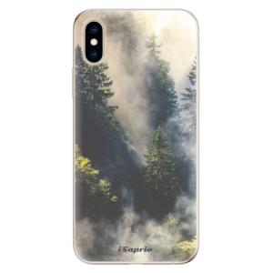 Odolné silikonové pouzdro iSaprio - Forrest 01 na mobil Apple iPhone XS - výprodej