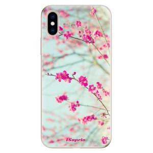 Odolné silikonové pouzdro iSaprio - Blossom 01 na mobil Apple iPhone XS