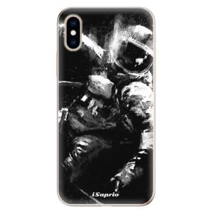 Odolné silikonové pouzdro iSaprio - Astronaut 02 na mobil Apple iPhone XS