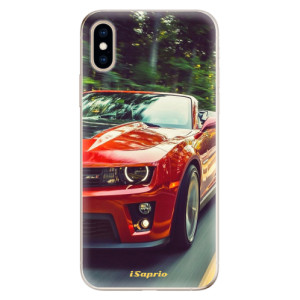 Odolné silikonové pouzdro iSaprio - Chevrolet 02 na mobil Apple iPhone XS