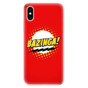 Odolné silikonové pouzdro iSaprio - Bazinga 01 na mobil Apple iPhone XS