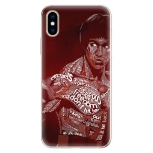 Odolné silikonové pouzdro iSaprio - Bruce Lee na mobil Apple iPhone XS