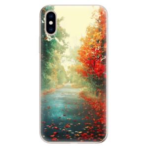 Odolné silikonové pouzdro iSaprio - Autumn 03 na mobil Apple iPhone XS