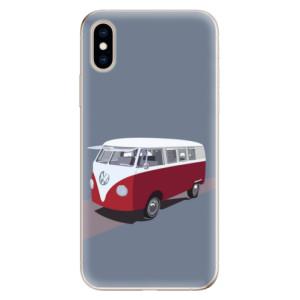 Odolné silikonové pouzdro iSaprio - VW Bus na mobil Apple iPhone XS