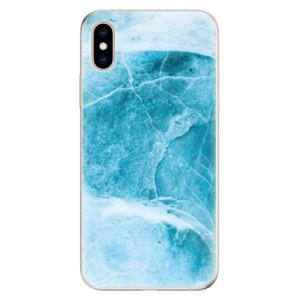 Odolné silikonové pouzdro iSaprio - Blue Marble na mobil Apple iPhone XS