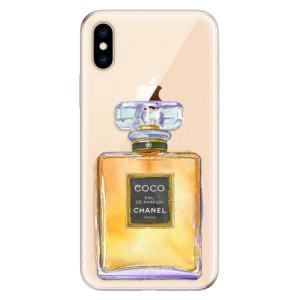Odolné silikonové pouzdro iSaprio - Chanel Gold na mobil Apple iPhone XS