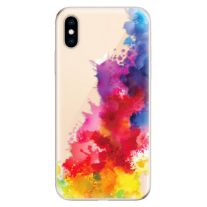 Odolné silikonové pouzdro iSaprio - Color Splash 01 na mobil Apple iPhone XS
