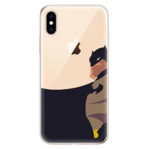 Odolné silikonové pouzdro iSaprio - BaT Comics na mobil Apple iPhone XS