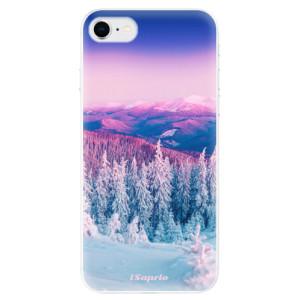 Odolné silikonové pouzdro iSaprio - Winter 01 na mobil Apple iPhone SE 2020 - poslední kousek za tuto cenu
