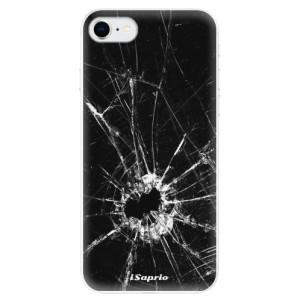 Odolné silikonové pouzdro iSaprio - Broken Glass 10 na mobil Apple iPhone SE 2020