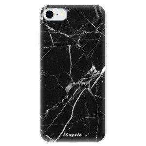 Odolné silikonové pouzdro iSaprio - Black Marble 18 na mobil Apple iPhone SE 2020