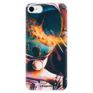 Odolné silikonové pouzdro iSaprio - Astronaut 01 na mobil Apple iPhone SE 2020