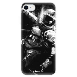 Odolné silikonové pouzdro iSaprio - Astronaut 02 na mobil Apple iPhone SE 2020