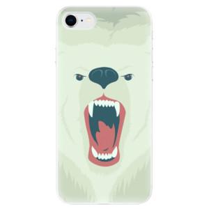 Odolné silikonové pouzdro iSaprio - Angry Bear na mobil Apple iPhone SE 2020
