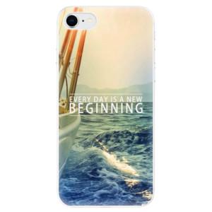 Odolné silikonové pouzdro iSaprio - Beginning na mobil Apple iPhone SE 2020