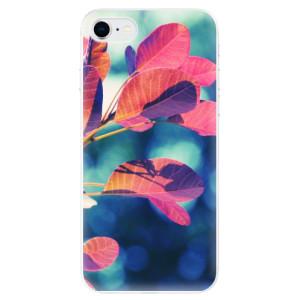 Odolné silikonové pouzdro iSaprio - Autumn 01 na mobil Apple iPhone SE 2020
