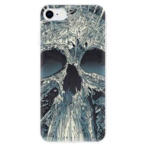 Odolné silikonové pouzdro iSaprio - Abstract Skull na mobil Apple iPhone SE 2020