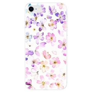 Odolné silikonové pouzdro iSaprio - Wildflowers na mobil Apple iPhone SE 2020 - poslední kus