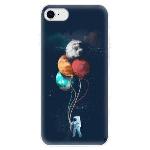 Odolné silikonové pouzdro iSaprio - Balloons 02 na mobil Apple iPhone SE 2020