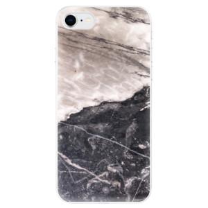 Odolné silikonové pouzdro iSaprio - BW Marble na mobil Apple iPhone SE 2020