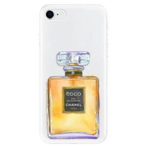 Odolné silikonové pouzdro iSaprio - Chanel Gold na mobil Apple iPhone SE 2020