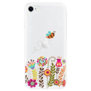 Odolné silikonové pouzdro iSaprio - Bee 01 na mobil Apple iPhone SE 2020
