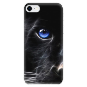 Odolné silikonové pouzdro iSaprio - Black Puma na mobil Apple iPhone SE 2020 - poslední kus za tuto cenu