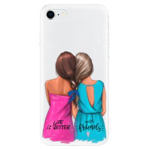 Odolné silikonové pouzdro iSaprio - Best Friends na mobil Apple iPhone SE 2020