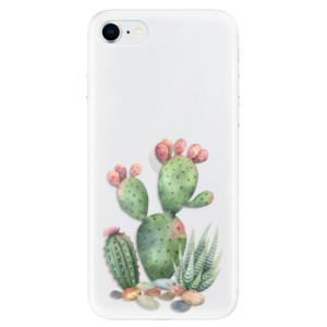 Odolné silikonové pouzdro iSaprio - Cacti 01 na mobil Apple iPhone SE 2020