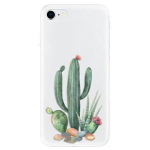 Odolné silikonové pouzdro iSaprio - Cacti 02 na mobil Apple iPhone SE 2020